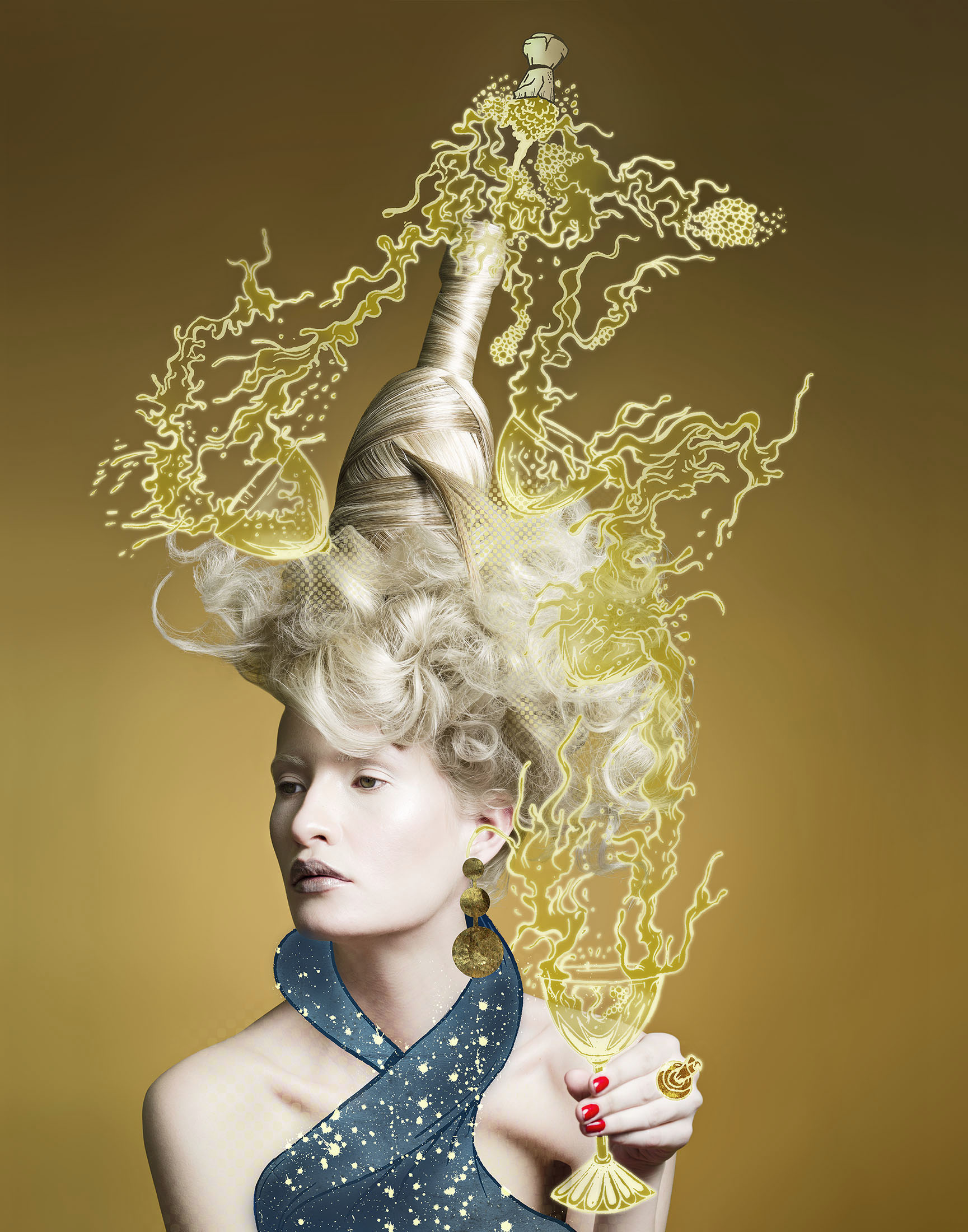 Jeff Harris Photo Champagne Hair